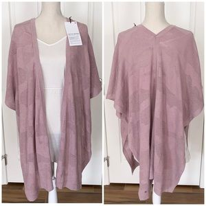 Lululemon find your light wrap heathered mauve